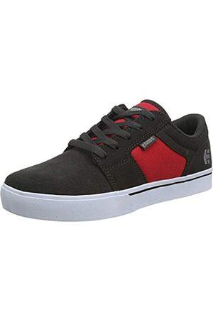 Etnies Unisex-Kinder Kids Barge Ls Skateboardschuhe, (065-Dark Grey/Red 065)