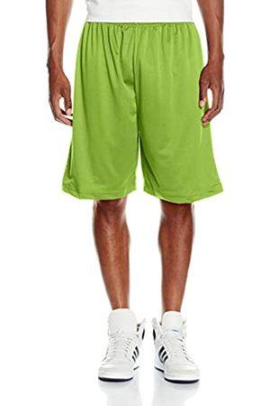 Urban classics Herren Bball Mesh Shorts Sportshorts, Grün (Limegreen 00146)
