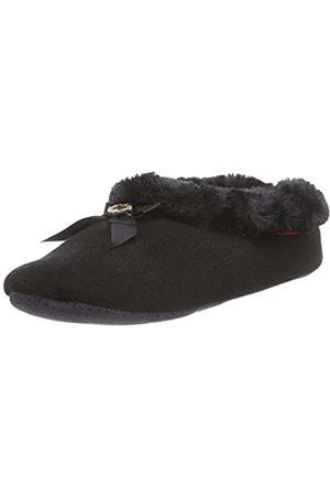 flip*flop Damen couchy Flache Hausschuhe, (Black 000)