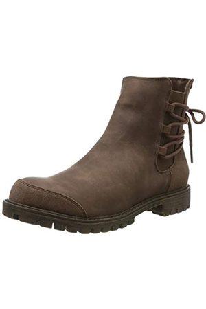 Roxy Damen Kearney - Faux Leather Boots for Women Schlupfstiefel, (Chocolate CHL)