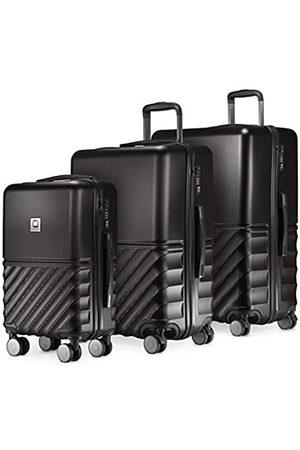Hauptstadtkoffer Boxi - 3er Koffer-Set Trolley-Set Rollkoffer Reisekoffer TSA, 4 Rollen, (S