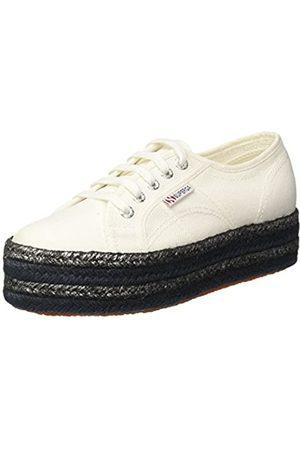Superga Damen 2790-COTCOLOROPEW Sneaker, (White 901)
