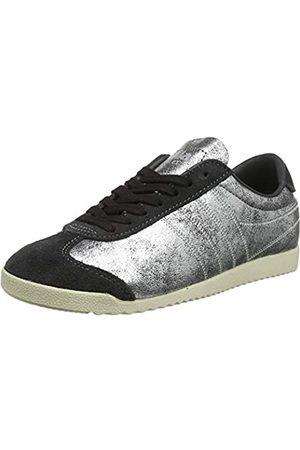 Gola Damen Bullet Lustre Shimmer Sneaker, (Charcoal/Silver Gj)