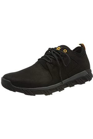 Caterpillar Herren Electroplate Leather Sneaker, (Black P723551)