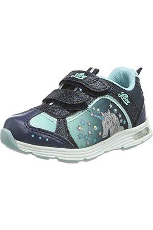 LICO Mädchen Unicorn V Blinky Sneaker, (Marine/Türkis Marine/Türkis)