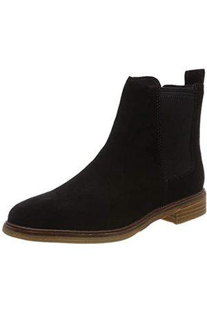 Clarks Damen Clarkdale Arlo Chelsea Boots, (Black SDE)