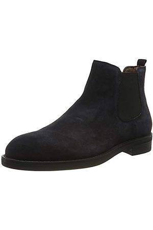 Stonefly Herren Carnaby Velour Chelsea Boots, (Limo Blue 100)