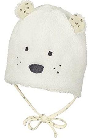 Sterntaler Mütze für Mädchen mit Bindebändern und Bärenohren, Alter: ab 3-4 Monate, Größe: 39