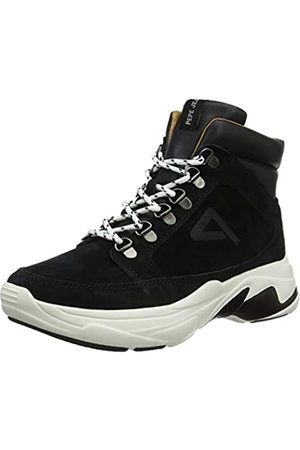 Pepe Jeans London Damen SINYU Treck Hohe Sneaker, (Black 999)