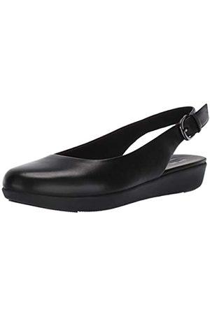 FitFlop Damen Sarita Sling Backs Geschlossene Ballerinas, Black (All Black 090)