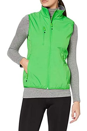CLIQUE Damen Outdoor Weste Ladies Softshell Vest Gilet, Green (Apple Green)