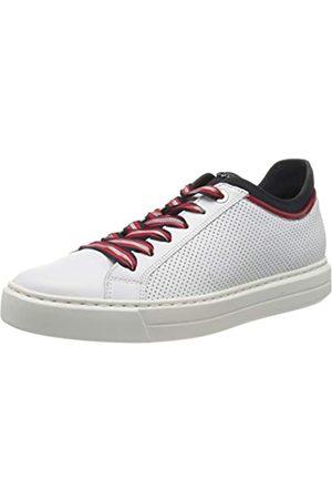 ARA Damen COURTYARD Sneaker, Weiss, Rosso/ 06)