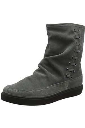 Hotter Damen Pixie Extra Wide Kurzschaft Schlupfstiefel, (Urban Grey 385)