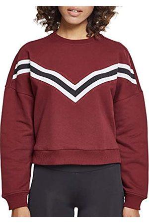 Urban classics Damen Ladies Inset Striped Crew Pullover