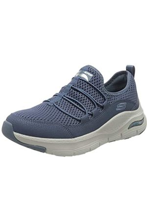 Skechers Damen Arch FIT Lucky Thoughts Sneaker, (Navy Mesh/Trim NVY)