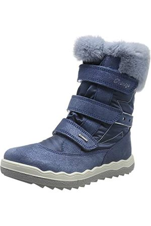 Primigi Mädchen PFZ Gore-TEX 43823 Schneestiefel, (Azzurro/Jeans 4382322)