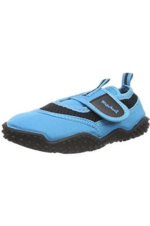 Playshoes Badeschuhe Neonfarben mit höchstem UV-Schutz nach Standard 801 174796, Unisex-Kinder Aqua Schuhe, ( 7)