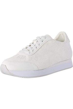 Desigual Damen Shoes Galaxy Lottie Sneaker, (Blanco 1000)