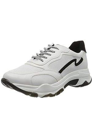 Marco Tozzi Damen 2-2-23707-34 Sneaker, Mehrfarbig (White/Black 110)