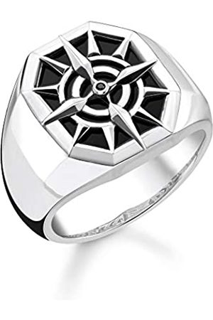 Thomas Sabo Unisex-Ring Kompass 925 Sterlingsilber TR2274-641-11-48