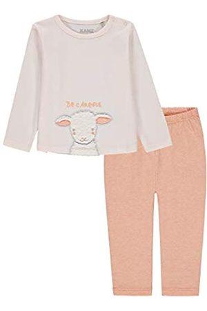 Kanz Baby-Mädchen 2 TLG. Set (T-Shirt 1/1 Arm + Leggings) Bekleidungsset|