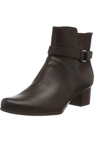 Clarks Damen Un Damson Mid Stiefeletten, (Brown Leather Brown Leather)