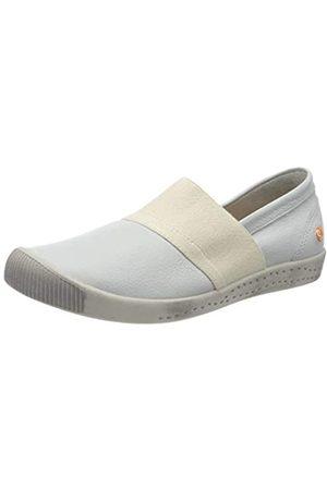 softinos Damen INO497SOF Slipper, (White 004)