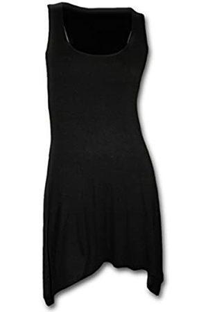 Spiral Damen Gothic Elegance-Goth Bottom Camisole Dress Kleid