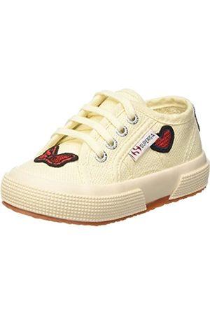Superga Unisex-Kinder 2750-COTPATCHJ Sneaker, Mehrfarbig (Ecru Bow-Hearts G46)