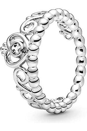 PANDORA Damen-Ring 925 Sterling Silber Zirkonia Gr. 52 (16.6) 190880CZ-52