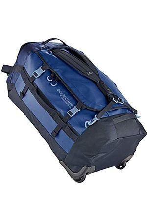 Eagle Creek Cargo Hauler Wheeled Duffel 110L, faltbare Reisetasche mit Rollen, großes Duffle Bag, abrieb- & wasserbeständiges TPU-Gewebe, Rucksacktragegurte, Artic Blue