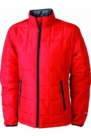 James & Nicholson Damen Jacke Steppjacke Padded Light Weight (red/black) XX-Large
