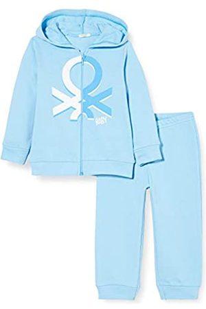 Benetton Baby-Jungen Completo Felpa E Pantalone Bekleidungsset