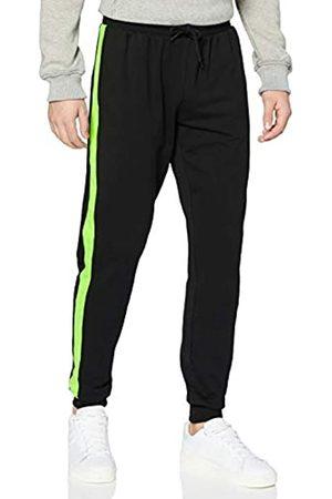 Urban classics Herren Jogging Neon Striped Sweatpants Klassische Hose
