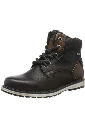 TOM TAILOR Jungen 7971202 Klassische Stiefel, (Black 00001)