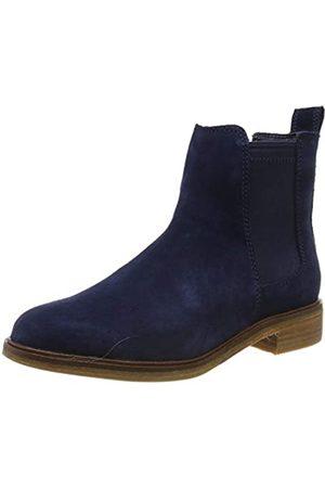 Clarks Damen Clarkdale Arlo Chelsea Boots, (Navy Suede Navy Suede)