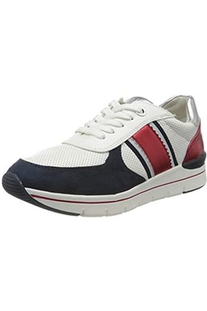 Marco Tozzi Damen 2-2-23710-24 Sneaker, (White/Navy 184)
