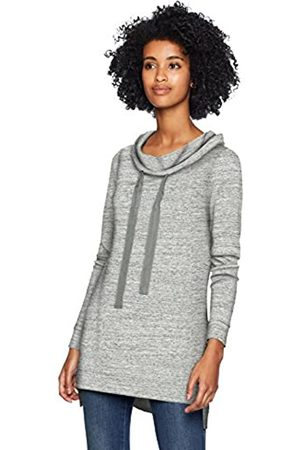Daily Ritual Supersoft Terry Funnel-Neck tunic-shirts