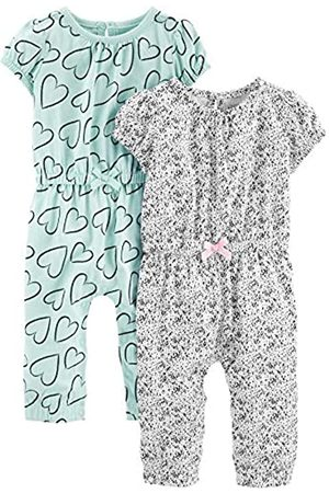 Simple Joys by Carter's Baby Mädchen 2er-Pack Jumpsuits