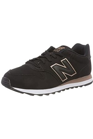 New Balance Damen 500 Sneaker, (Black Black)