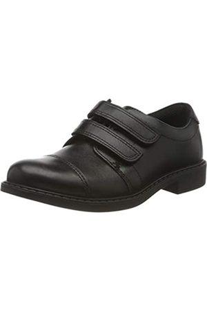Clarks Jungen Scala Skye K Slipper, (Black Leather Black Leather)