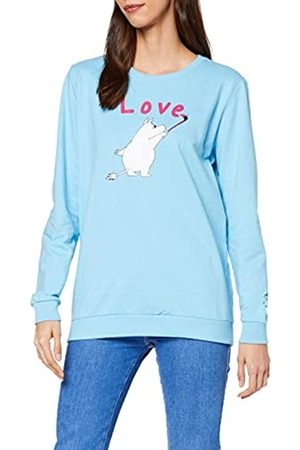 People Tree Damen Moomin Love Print Sweatshirt