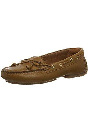 Clarks Damen C Mocc Boat Mokassin, (Tan Leather Tan Leather)