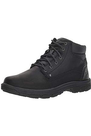 Skechers Men's Segment-Garnet Chukka Boots, Black (Black Bbk)