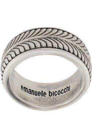 EMANUELE BICOCCHI Ringe - Bandring mit Gravur