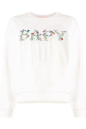 BAPY BY *A BATHING APE® Sweatshirt mit Blumenstickerei