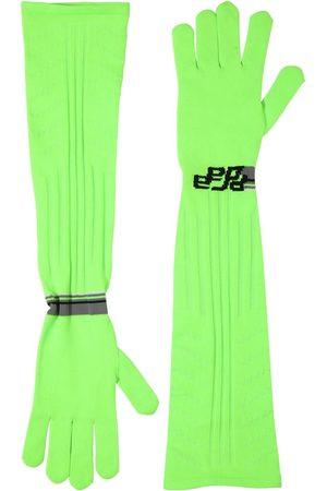 Prada Lange Handschuhe Aus Technostrick Mit Logointarsie