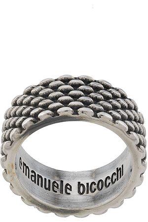 EMANUELE BICOCCHI Ring im mit Logo-Prägung