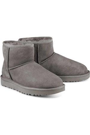 Ugg Damen Stiefel - Boots Classic Mini Ii in dunkelgrau, Hausschuhe für Damen