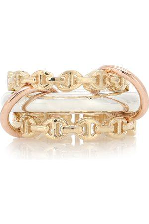 SPINELLI KILCOLLIN X Hoorsenbuhs Ring Microdame aus 18kt und Sterlingsilber